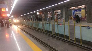 Mashhad Metro Shariati Station 2