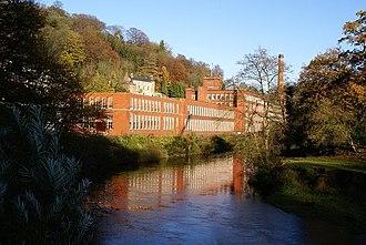 Masson Mill - Image: Masson Mill, Matlock Bath geograph.org.uk 281315