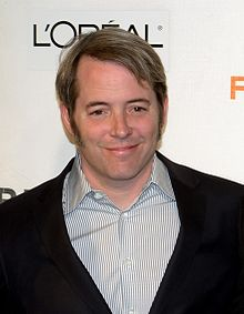O actor y productor estatounitense Matthew Broderick en 2009.