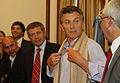 Mauricio Macri firmó convenios de colaboración con los intendentes de cinco municipios de Catamarca (8103624047).jpg