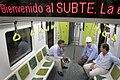Mauricio Macri visitó los talleres-cochera de la Linea A de Subtes (8359599250).jpg