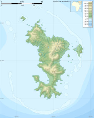 Mayotte topographic blank map.png