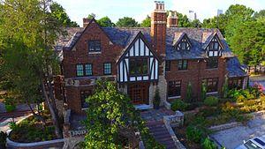 McBirney Mansion (Tulsa, Oklahoma) - Image: Mcbirney front