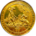 1637 medal commemorating Władysław IV's victories