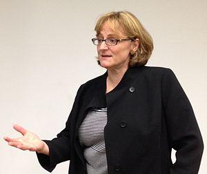 Meg Urry - Meg Urry speaking at Fermilab.