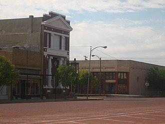 Memphis, Texas - Image: Mem. street IMG 0672