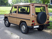 Mercedes Benz G Cl 2 Door