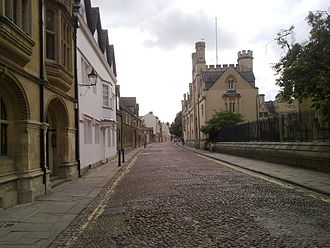 Merton Street - Merton Street, viewed from the junction with Magpie Lane