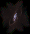 Messier 106 - SPIRE R500µmG350µmB250µm.png
