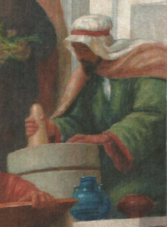 Masawaih al-Mardini - Mesue the Younger, 1906, by Veloso Salgado (NOVA Medical School, Lisbon)