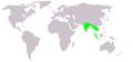 Metopidius indicus map.png
