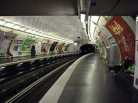 Image illustrative de l'article Jourdain (métro de Paris)