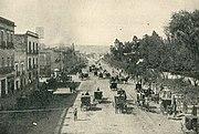 Straßenszene um 1890