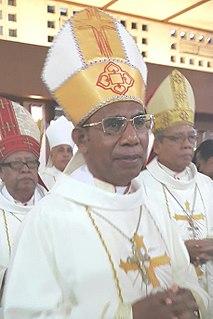 Dominikus Saku 21st-century Indonesian Catholic bishop