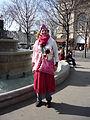 Mi-Carême au Carnaval de Paris 2009 - P1040041.JPG