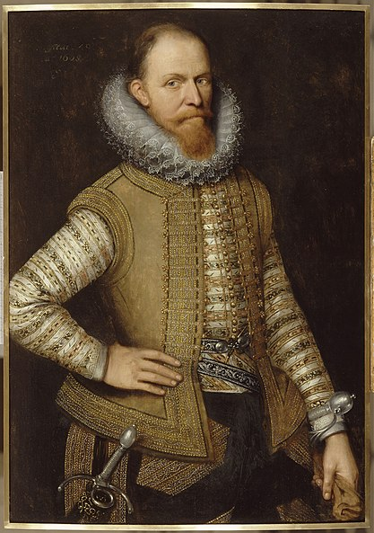 Mauricio de Nassau, retrato de Michiel Jansz. van Mierevelt.