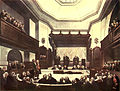 Microcosm of London Plate 023 - Court of Common Pleas, Westminster Hall.jpg
