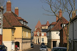 Poundbury - Image: Middlemarsh Street geograph.org.uk 384233