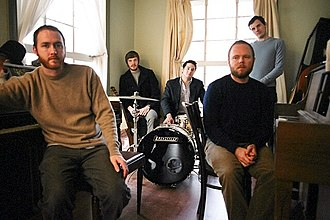Midlake - Midlake in rehearsal for the Van Occupanther album, January 2006