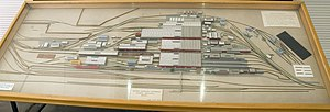 Midland Railway Workshops - Midland Railway Workshops yard model