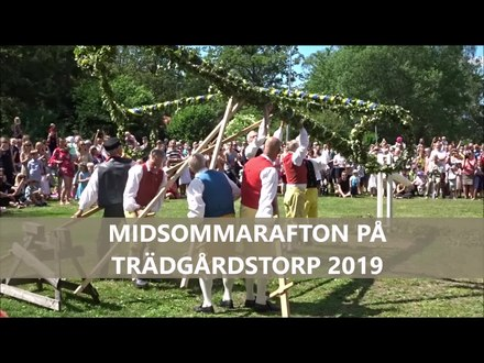 Datei:Midsommarafton, Trädgårdstorp Tullinge 2019.webm
