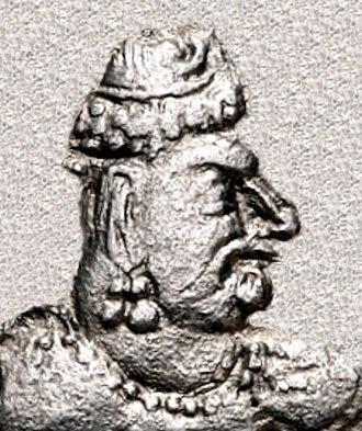 Gwalior inscription of Mihirakula - Portrait of Toramana.