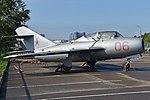 Mikoyan-Gurevich MiG-15UTI '06 red' (38539120632).jpg