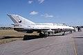 Mikoyan-Gurevich MiG-21U Mongol-A RSide TICO 13March2010 (14596180181).jpg