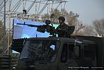 Military Parade Belgrade 2014 - Serbian Soldiers with Russian Knights - The Swifts (18436843106).jpg