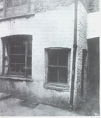 Dorset Street (Spitalfields) - No.13 Miller's Court in 1888
