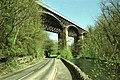 Miller's Dale - railway viaducts from road below - geograph.org.uk - 625686.jpg