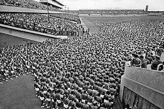 Strahov Stadium - 1980 Spartakiad on Strahov Stadium