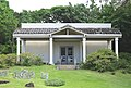 Milton Cades Pavilion in Spalding House gardens.JPG