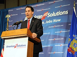 American Solutions for Winning the Future - Then Milwaukee County Executive Scott Walker speaks before the Wisconsin gubernatorial election, 2010