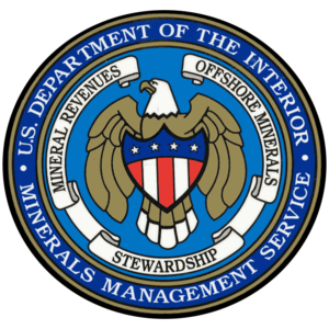 Minerals Management Service - Image: Minerals management service seal