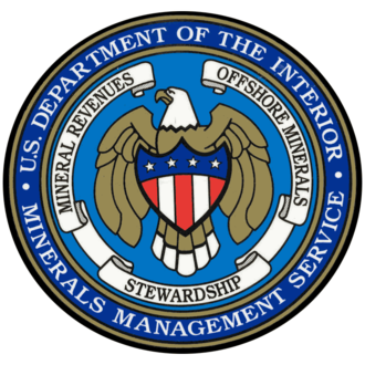Minerals Management Service - Image: Minerals management service seal