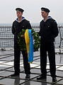 Minneskrans för HMS Ulvens besättning, 2013.jpg