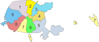 Administrative divisions of Minsk