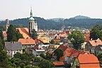 Polska - Mirsk, Panorama, Widok na północ