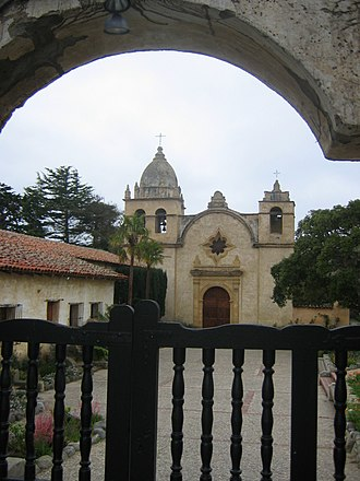 Rumsen - Mission San Carlos Borroméo de Carmelo, where many Rumsen were brought to live during the Mission Era