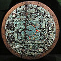 Mixtechi-aztechi, scudo cerimoniale, 1400-1521 circa.JPG