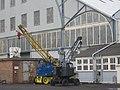 Mobile Cranes outside Chatham Dockyard - geograph.org.uk - 1715114.jpg