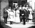 Mock wedding at Charles Orth House 1909 (3191479965).jpg