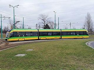 Moderus Gamma Tram type built by Modertrans Poznań