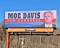 Moe Davis for Congress Billboard near Asheville, NC.jpg