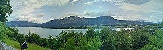 Mondsee (lake) - Image: Mondsee Panorama