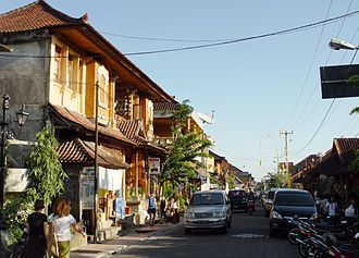Ubud - Image: Monkey Forest Street of Ubud 200507
