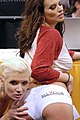Monroe Valentino and Bailey Brooks at AVN Adult Entertainment Expo 2009 2.jpg