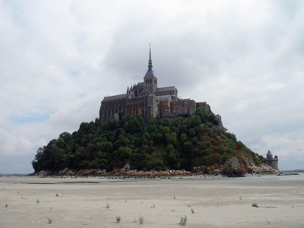 Mont-Saint-Michel depuis la mer