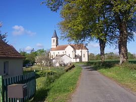 The church in Mont